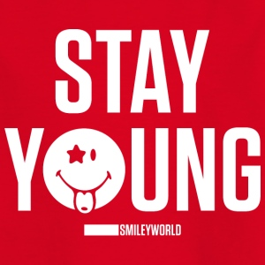 SmileyWorld Stay Young Bleib Jung - Teenager T-Shirt