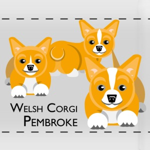 Welsh Corgi Pembroke Mugs & Drinkware - Panoramic Mug