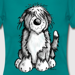 Cute Bearded Collie T-Shirts - Women's T-Shirt