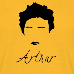 Arthur Rimbaud Silhouette - Men's T-Shirt