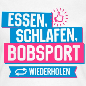 Hobby Bobsport T-Shirts - Frauen T-Shirt