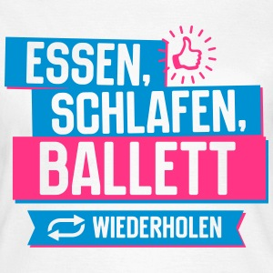 Hobby Ballett T-Shirts - Frauen T-Shirt