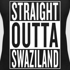 Swaziland T-Shirts - Women's V-Neck T-Shirt