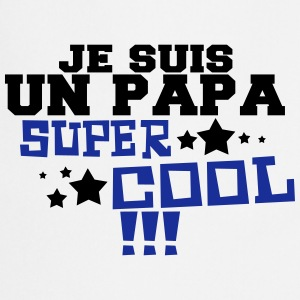 un papa super cool Tabliers - Tablier de cuisine
