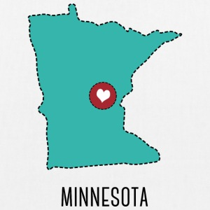 Minnesota State Herz Bags & Backpacks - EarthPositive Tote Bag