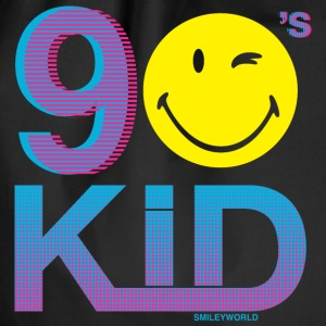 SmileyWorld 90s Kid Kind Der Neunziger - Turnbeutel