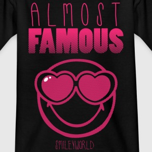 SmileyWorld Almost FAMOUS - T-shirt tonåring