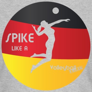 VolleyballFREAK spike-woman-deutschland M - Frauen T-Shirt