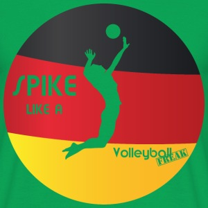 VolleyballFREAK spike-man-deutschland M - Männer T-Shirt