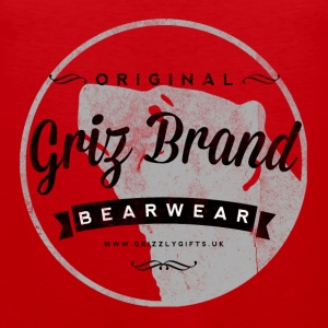 Griz Brand dark Tank - Men's Premium Tank Top