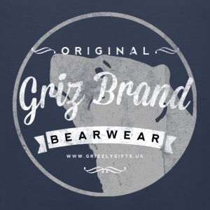 Griz Brand light tank - Men's Premium Tank Top
