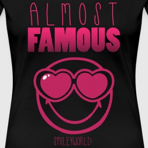 SmileyWorld Almost Famous Fast Berühmt - Frauen Premium T-Shirt