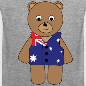 Aussie Bear tank - Men's Premium Tank Top