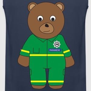 Paramedic Bear tank - Men's Premium Tank Top
