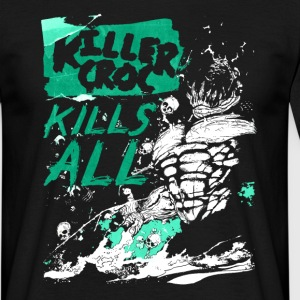 Suicide Squad Killer Croc Kills All - Mannen T-shirt
