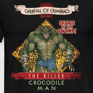Suicide Squad The Killer Crocodile Man - Premium T-skjorte for menn