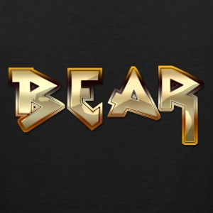 Metal Bear tank - Men's Premium Tank Top