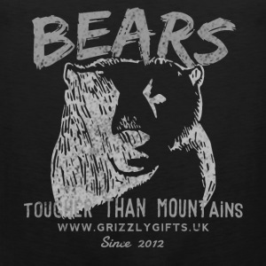 Mountain Bear Light tank - Men's Premium Tank Top