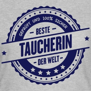 Beste Taucherin T-Shirts - Frauen T-Shirt