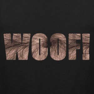 Woof! tank - Men's Premium Tank Top