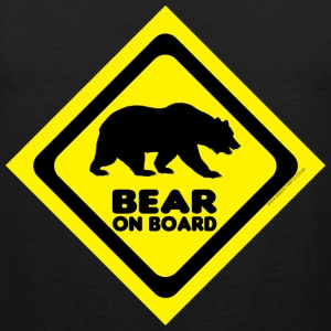 Bear On Board 2 tank - Men's Premium Tank Top