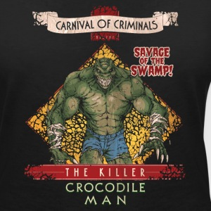 Suicide Squad The Killer Crocodile Man - Frauen T-Shirt mit V-Ausschnitt