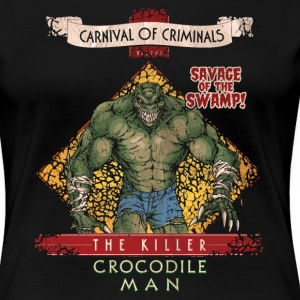 Suicide Squad The Killer Crocodile Man - Premium T-skjorte for kvinner
