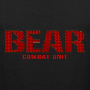 Bear Combat Unit tank - Men's Premium Tank Top