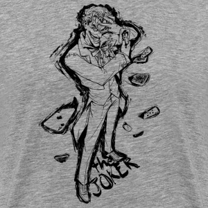 Suicide Squad The Joker Line Art - Männer Premium T-Shirt