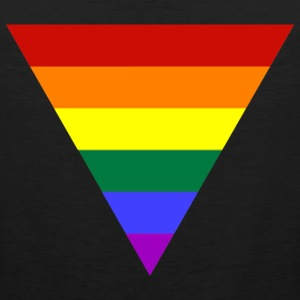 Pride Triangle tank - Men's Premium Tank Top