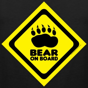 Bear On Board 3 tank - Men's Premium Tank Top