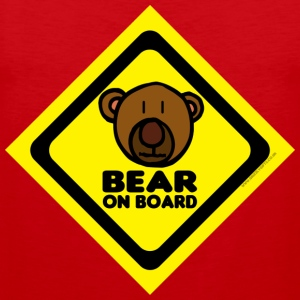 Bear On Board 1 tank - Men's Premium Tank Top