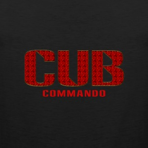 Cub Commando tank - Men's Premium Tank Top