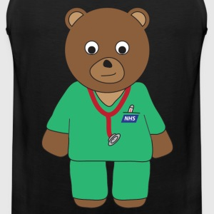 Doctor Bear tank - Men's Premium Tank Top