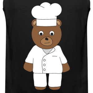 Chef Bear tank - Men's Premium Tank Top