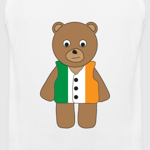 Ireland Bear tank - Men's Premium Tank Top