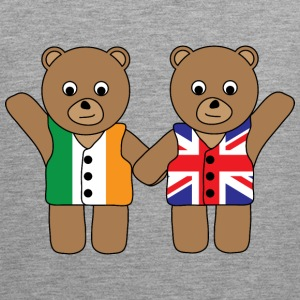 British Irish Friend Bears tank - Men's Premium Tank Top