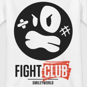 SmileyWorld Fight Club Rowdy Smiley - Teenager T-Shirt