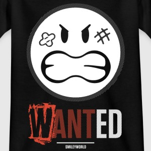 SmileyWorld Wanted Gesuchter Smiley - Teenager T-Shirt