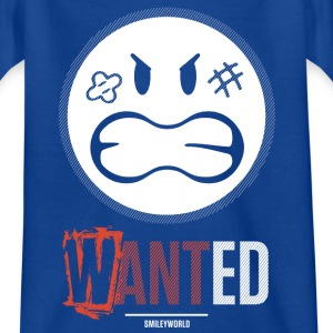 SmileyWorld Wanted - Kids' T-Shirt