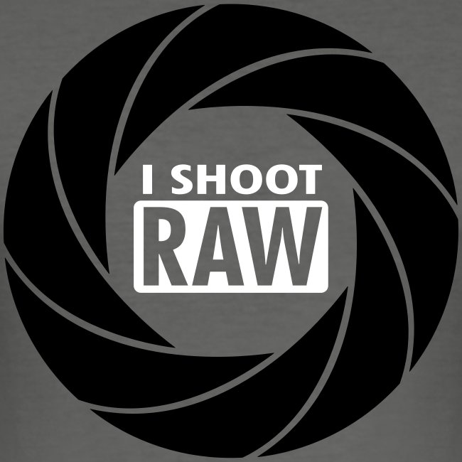 I SHOOT RAW - Black / White