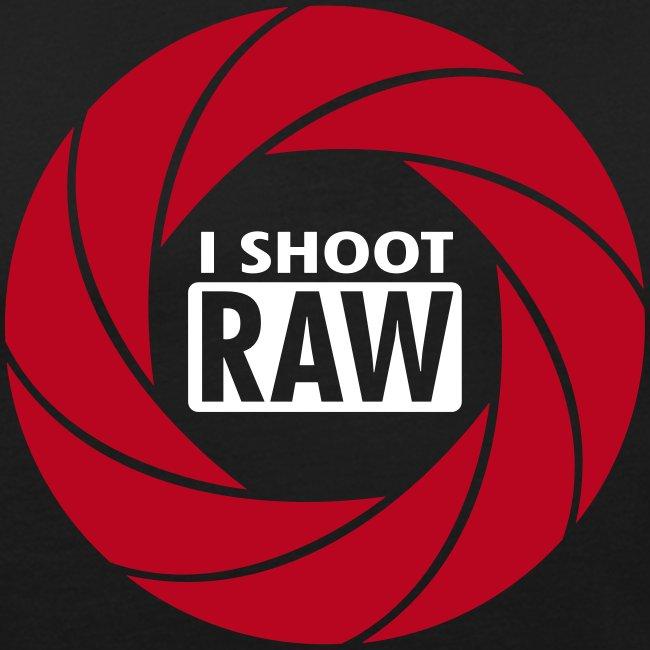 I SHOOT RAW - Red/White