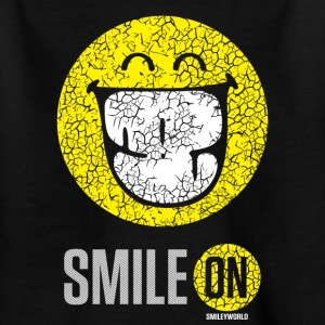 SmileyWorld Smile On Einfach Weiterlächeln - Teenager T-Shirt