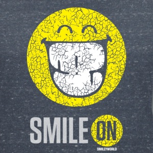 SmileyWorld Put On Your Smiley Face - Vrouwen T-shirt met V-hals