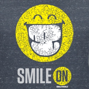 SmileyWorld Sourire À Pleines Dents Smile On - T-shirt col V Femme