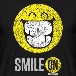 SmileyWorld Put On Your Smiley Face - Men's T-Shirt