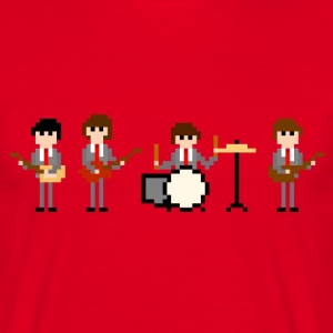 8 Bit The Beatles - Men's T-Shirt