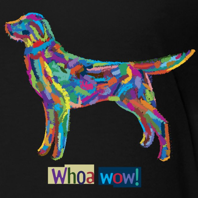 Bunter Hund - Kinder-T-Shirt