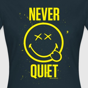 SmileyWorld Never Quiet Smiley - Women's T-Shirt