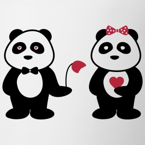 Panda in love - Tasse